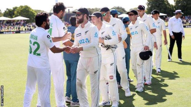 New Zealand and Pakistan