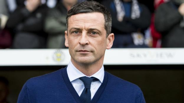 Jack Ross Guided Saints From The Brink Of Relegation To League One Back To The Scottish Premiership