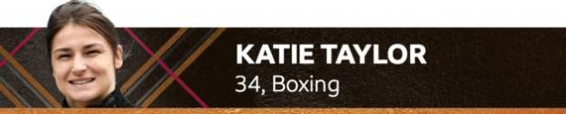 Katie Taylor, 34, boxing