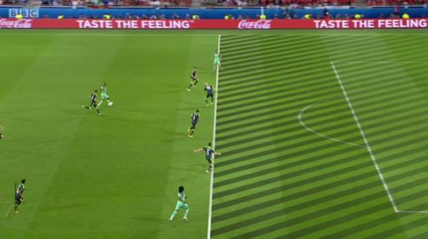 Ronaldo was offside at the start of the move that led to Portugal's second goal