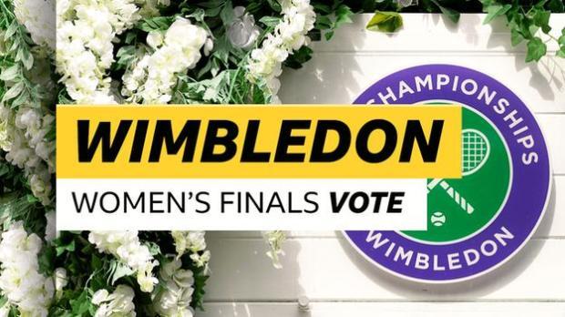 wimbledon women's finals vote