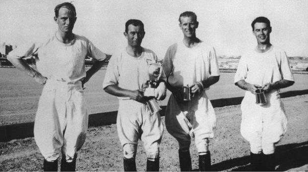 Prince Philip playing polo in 1950