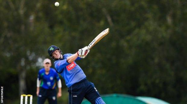 Kevin O'Brien was on top form on Thursday with eight sixes in a blistering 82 from 37 balls
