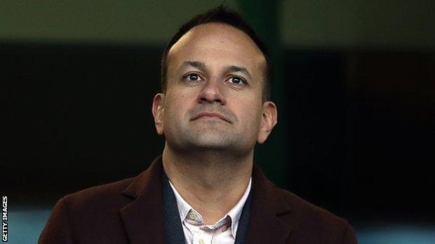 Varadkar says the Irish government is cautious about allowing fans back into the Aviva Stadium for Euro 2020