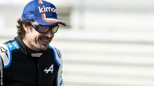Fernando Alonso ahead of pre-season testing