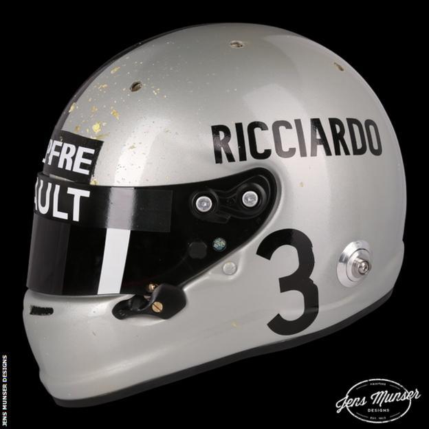 Daniel Ricciardo helmet