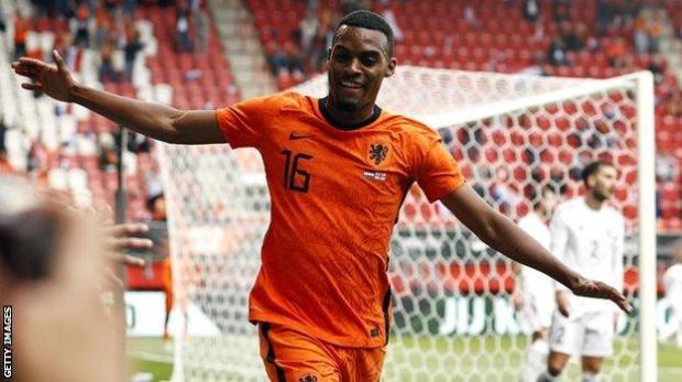 Netherlands midfielder Ryan Gravenberch