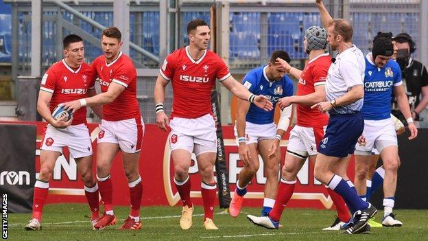 Wales v Italy