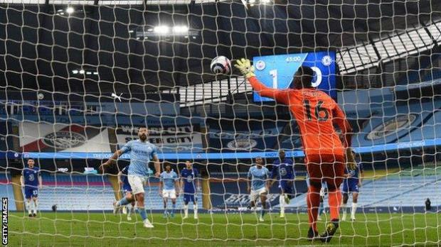 Sergio Aguero has missed six of the 33 penalties he has taken in the Premier League