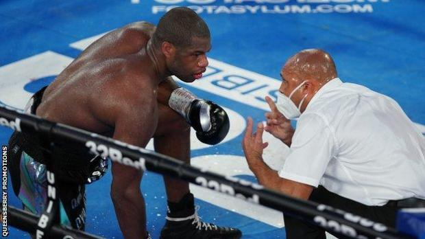 Daniel Dubois could not make the count in round 10