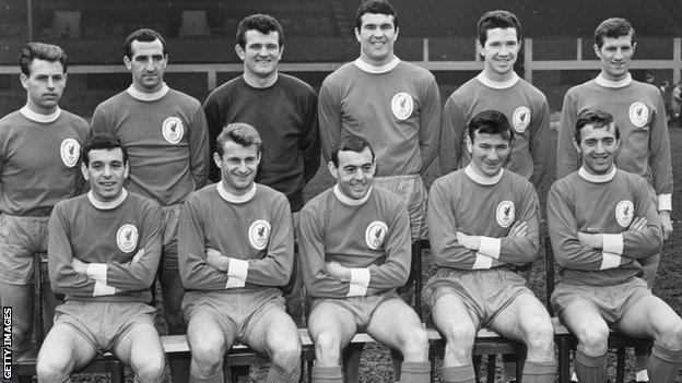 Liverpool 1965 FA Cup team