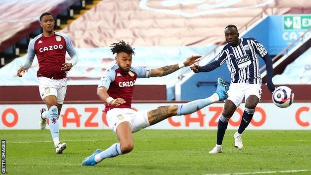 Late Villa equaliser hurts West Brom