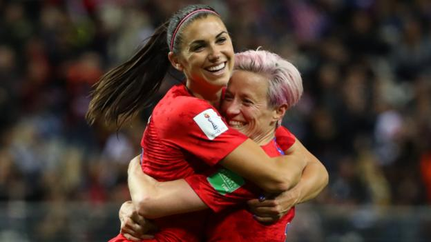 USA 13-0 Thailand: United States claim biggest ever Women's World Cup win 1
