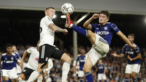, Dan James: Leeds winger plays in Carabao Cup win at Fulham after becoming a dad, The Evepost BBC News