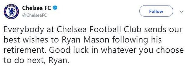 Chelsea tweet