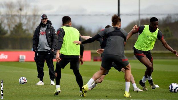 Champions League: Liverpool boss Jurgen Klopp unhappy with ...