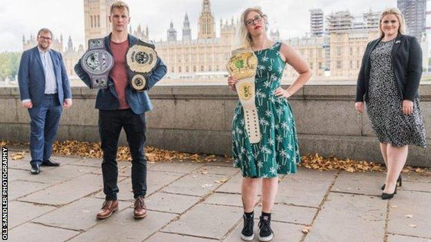 A parliamentary group has found that wrestling should be classified as a sport