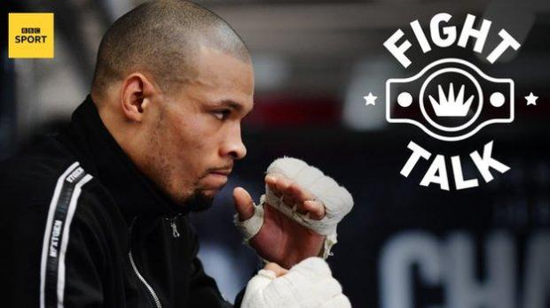 Britain's middleweight contender Chris Eubank Jr