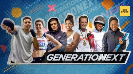 The BBC Sport Generation Next 2021 line-up
