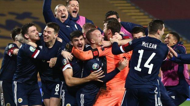 Serbia v Scotland