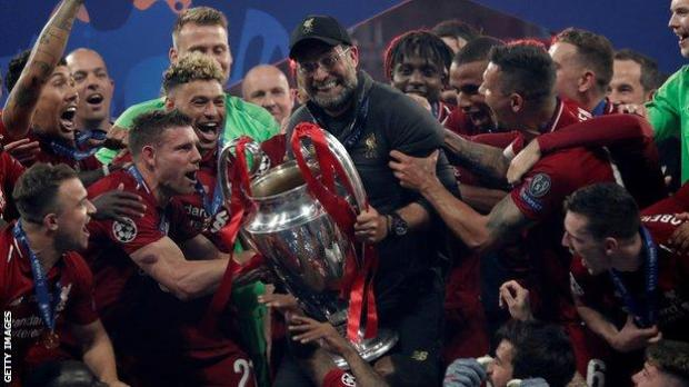 Jurgen Klopp led Liverpool to victory in the Champions League in 2019