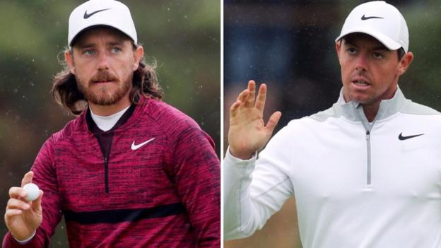 The Open 2018: Tommy Fleetwood and Rory McIlroy in contention 1