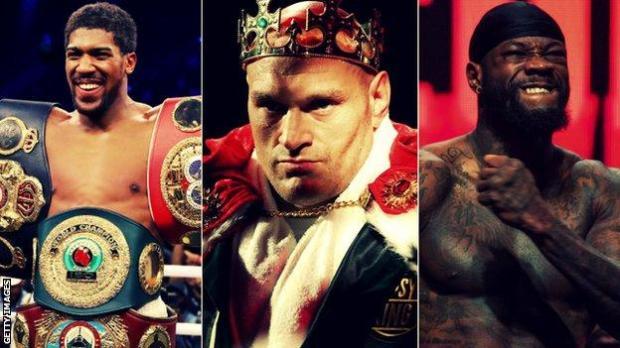 Joshua, Fury and Wilder
