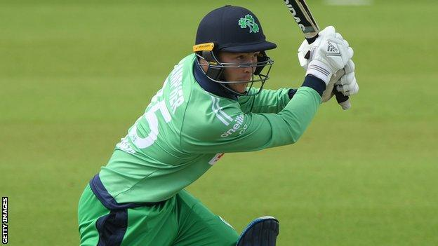 Curtis Campher notched two ODI half centuries against England last summer