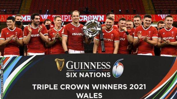 Wales claimed a 22nd Triple Crown against England in February 2021
