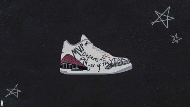 Illustration of Nike Air Jordan