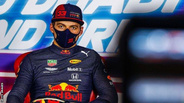 Red Bull-coureur Max Verstappen