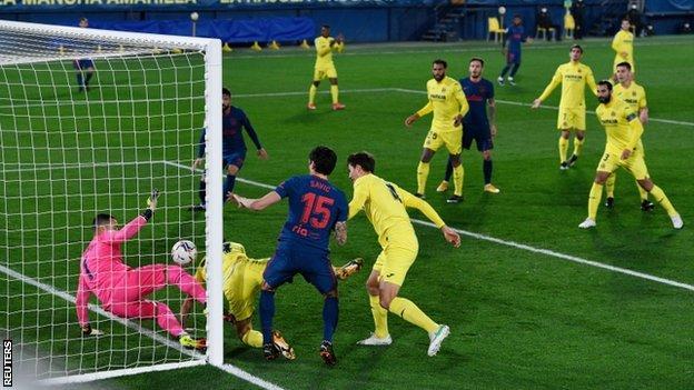 Atletico Madrid goal