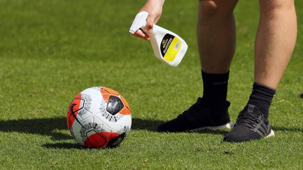 Premier League clubs agree to resume contact training as four more test positive 1