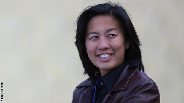 Kim Ng, who has just been hired as general manager by the Miami Marlins