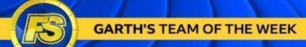 Garth team of the week