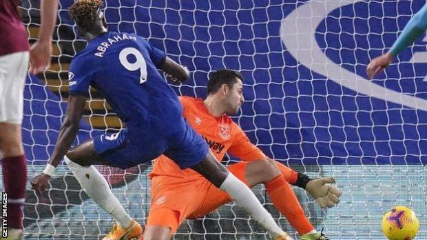 Tammy Abraham scores for Chelsea