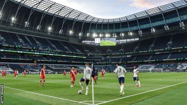 Tottenham's new ground was voted Venue of the Year at TheStadiumBusiness Awards in 2020