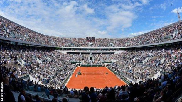 Court Philippe Chatrier holds more than 15,000 fans, but capacity will be limited to 5,000 during this year's French Open