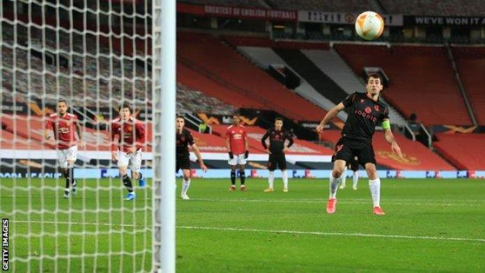 Mikel Oyarzabal fired a penalty off target for Real Sociedad early in the first half