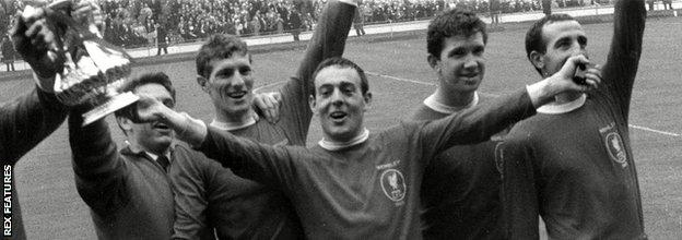 St John's winner helped Liverpool claim the 1965 FA Cup