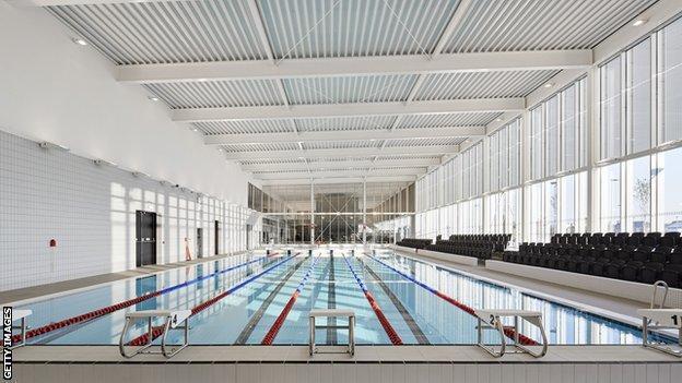 UK swimming pool