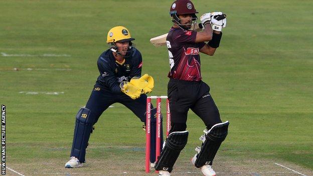 Babar Azam was the leading run-scorer in last year's T20 Blast, making 578 runs in 13 innings