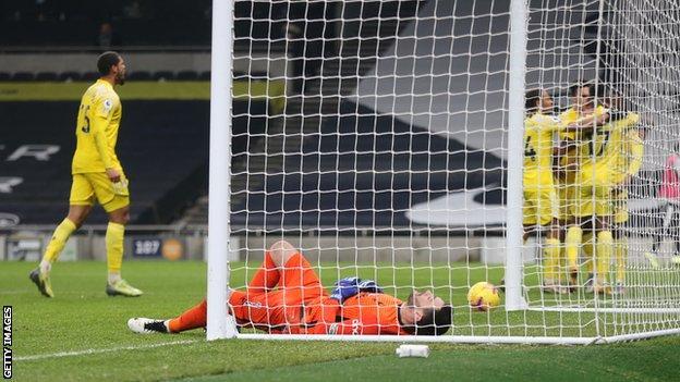 Fulham celebrate equaliser