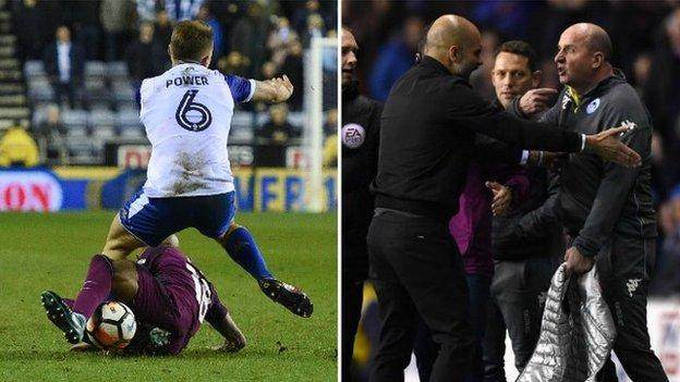 """Match of the Day pundit Jermaine Jenas felt Delph's red card was a """"strange"""" decision"""