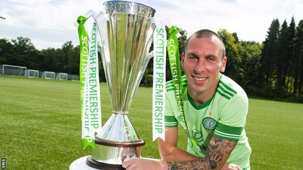 Scott Brown has helped Celtic to nine successive domestic titles