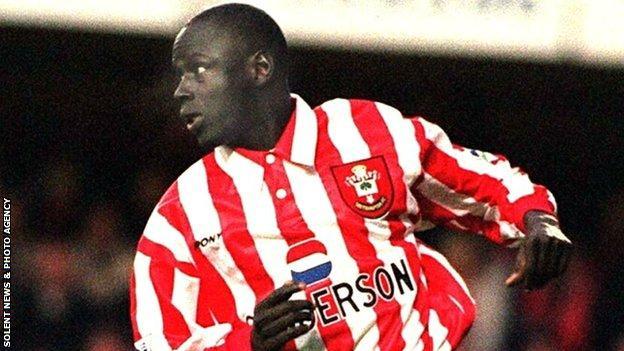 Southampton's legendary Senegalese substitute Ali Dia