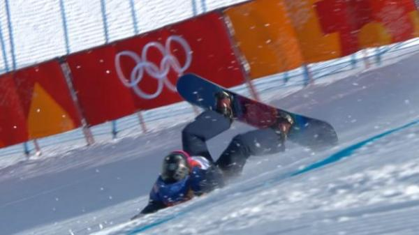Winter Olympics: Aimee Fuller crashes out of slopestyle ...