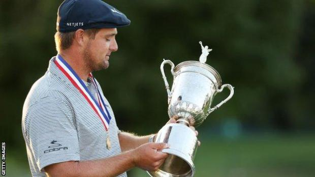 DeChambeau was the only player to finish under par at the 2020 US Open