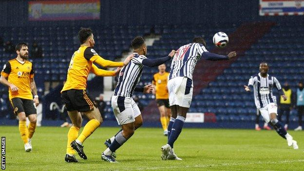 Mbaye Diagne scores for West Brom