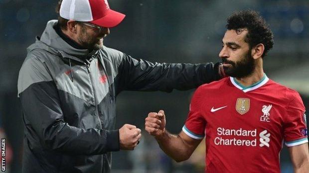 Mohamed Salah acknowledges Jurgen Klopp